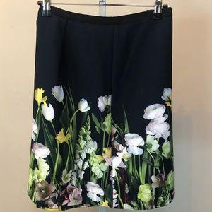 Victoria Beckham For Target Floral Skirt (L)